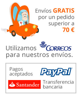 Envíos y pagos en pililampos.com